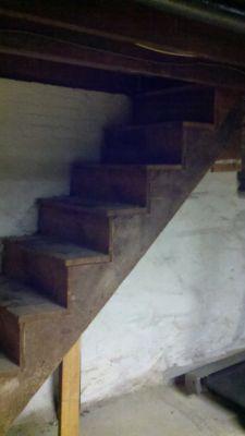 The original stairs.
